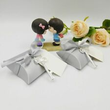 10X Bottle Openers With Candy Box Key Paper Tag For Wedding Party Festive Gift