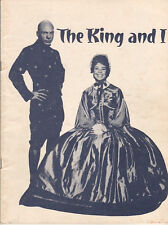 """Betsy Palmer """"The King and I"""" Souvenir Program 1963 Paper Mill Playhouse"""