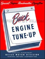 Buick Engine Tune Up Manual 1948 1949 1950 Stromberg Carter Carburetor Repair