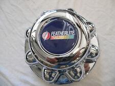 "FEATHERLITE 8 lug 8 3/8"", fits 13/16"" lug nut, chrome center cap hub cap hubcap"