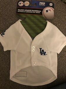 NEW! Size:Small Los Angeles Dodgers MLB Pets First Pet Baseball Jersey