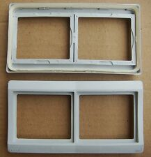 SAREL  SCHNEIDER,,Lot de 5 Double Plaque Horizontal Etanche IP44  (34101)