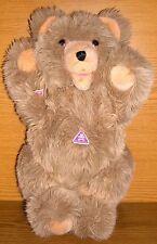 Clemens Teddy Teddybär mit Schild 41cm groß flauschig