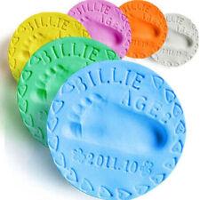 Baby Air Drying Soft Clay Handprint Footprint Casting fingerprint Kit DIY ink