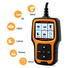 OBD2 EOBD Scanner Fault Code Reader Auto Car Engine Light Diagnostic Scan Tool