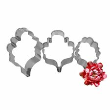 Colette Peters Oriental Peony Cutter Set Of 3 By New York Cake
