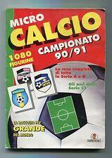 Album Figurine MICRO CALCIO Campionato 90/91 Vallardi Figurine presenti 763/1080