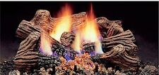 "Monessen 18"" Charred Timber Natural Gas Vent Free Gas Log Set Remote Capable"