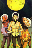 The Midas Flesh #1 Boom! Virgin Art Variant Comic Book NM Direct J&R