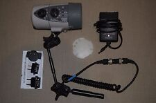 Ikelite ds125 digital flash sub strobe for underwater camera housing + arm, lead