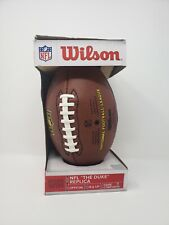 Wilson Nfl The Duke Replica Official Size Composite Football Wtf1825 New