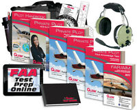 Gleim Private Pilot Kit David Clark H10-60 Bundle Pack FREE SHIPPING