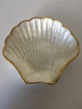Clam Sea Shell Dish Very Lightweight