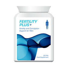 FERTILITY PLUS MEN FERTILITY & CONCEPTION SUPPORT PILLS MALES HELP PREGNANCY