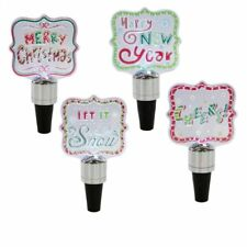 """Midwest Lighted LED Flashing """"Text"""" Bottle Stopper 127703"""
