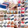 Damen Börse Leder Geldbörse Geldbeutel Portemonnaie Brieftasche Damenbörse Bags