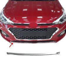 2018Up Hyundai I20 HB Chrome Front Bumper Streamer 1pcs S.Steel