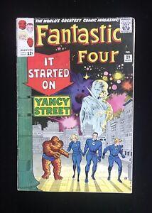 FANTASTIC FOUR #29 (08/64) WATCHER APP MARVEL GREAT BOOK READ DESCRIPTION