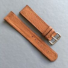 Vintage Genuine Leather Watch Strap. 18mm Strap Ends.