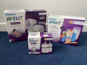 Phillips Avent Electric Breast Pump Bottle & Milk Storage Containers