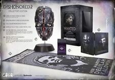 Dishonored 2 Premium Collector's Edition w/ Mask PlayStation 4 PS4 Free Shipping