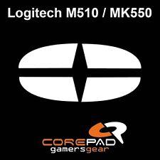 Corepad Skatez Logitech M510 MK550 Ersatz Teflon® Mausfüße Maus Füße Gleiter