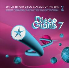DISCO GIANTS Volume 7 (2-CD) Great 80's 12 inches
