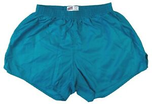 Teal Nylon Shorts by Soffe - Size Large
