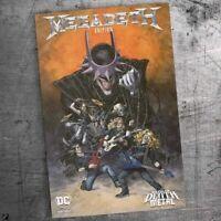 Dark Nights: Death Metal #1 Megadeth Bands Variant Mexican Exclusive PRESALE