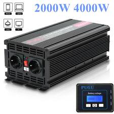 Spannungswandler REINER SINUS 2000W 4000W 12V 230V Wechselrichter m1