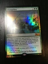 MTG MAGIC M19 SCAPESHIFT (FRENCH CHANGELIEU) NM FOIL
