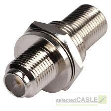 HICON F-Stecker Einbaubuchse Adapter weiblich Satellit Modem Kabel | HI-FEEP01