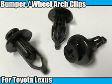 10x 9mm Front Rear Back Bumper Grille Grill Clips For Toyota Lexus 90467-09143