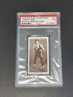 1938 Churchman #15 Tommy Farr Boxing Personalities PSA 7 NM