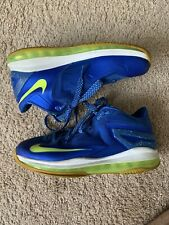 Nike Lebron 11 Low Youth Sprite Sz 7y Max Basketball Sneaker 644534-400