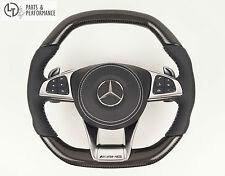 LE TEF® Carbon Leder Lenkrad für Mercedes-Benz AMG W222 W217 W205 W218 W176 W117