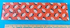 "Vintage Pumpkin Case Xx #69 10"" Steak Knife Box For Two Knives! Stidham Estate"