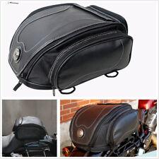 Motorcycle Rear Bag Saddle Bag+Rain Cover+Elastic Rope+Single Shoulder Strap Kit
