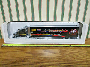 Agco Silver Bullet Pulling Tractor Peterbilt Semi By SpecCast 1/64th Scale >
