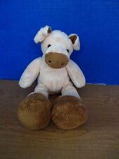 "Fiesta~ZOOBIE PETS~Tan Cow or Pig 11"" Plush Stuffed Animal"