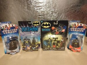 NEW LOT, Batman the Animated series, figures, 'Only in Jest', 'Battle Scars'