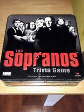 Sopranos Trivia Board Game  Excellent condition