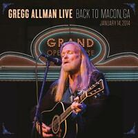 Gregg Allman - Gregg Allman Live: Back To Macon, Ga (NEW 2CD)