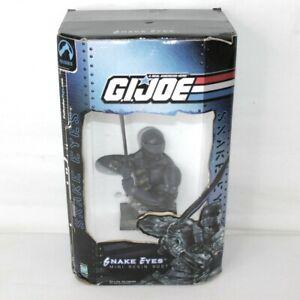 G.I. Joe Snake Eyes Mini Resin Bust 2002 Palisades Toys Limited #3174/4500
