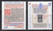 Kroatien / Hrvatska Nr. 361-362** Kroatische Inkunabeln