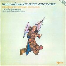 Sacred Vocal Music Of Claudio Monteverdi : The Parley of Instruments