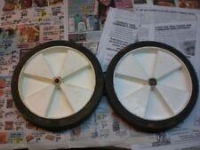 Wheel 10 inch plastic from craftman leaf shredder 1/2 inch axle