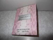 Womens Fragrance Jimmy Choo Original Eau De Toilette 1 x 2ml Sample spray New