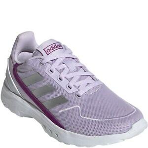 Adidas Girl's Nebula Ted - Purple - Fashion Sneakers - Sz: 1