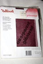 Neu 70er Jahre Bellinda Nylons Glanz Strumpfhose Gr. 42 Weinrot 15 Den Vintage